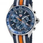 นาฬิกาผู้ชาย Tag Heuer รุ่น CAZ1014.FC8196, FORMULA 1 Chronograph Tachymeter 200M - ∅43 mm Men's Watch