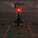 ไฟท้ายจักรยาน 2 เลเซอร์