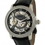 นาฬิกาผู้ชาย Stuhrling Original รุ่น 228.33151, Symphony Saturnalia Brumalia Mechanical Hand-wind Skeleton Stainless steel Men's Watch