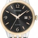 นาฬิกาข้อมือผู้ชาย Citizen Eco-Drive รุ่น BM7304-59E, 50m Sapphire Japan Elegant