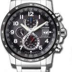 นาฬิกาผู้ชาย Citizen Eco-Drive รุ่น AT8124-83E, Global Radio Controlled AT Chronograph