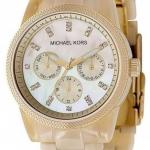 นาฬิกาผู้หญิง Michael Kors รุ่น MK5039, Ritz Resin Horn Bracelet