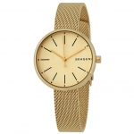 นาฬิกาผู้หญิง Skagen รุ่น SKW2614, Signature Gold tone Quartz Women's Watch