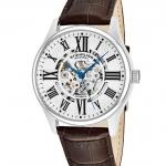 นาฬิกาผู้ชาย Stuhrling Original รุ่น 747.01, Atrium Automatic Skeleton Leather Strap Men's Watch