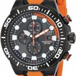 นาฬิกาข้อมือผู้ชาย Citizen Eco-Drive รุ่น CA0517-07E, Chronograph Orange & Black Professional 200m Divers Watch