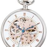 นาฬิกาพกพา Charles-Hubert รุ่น 3801, Mechanical Rose Gold Tone