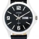 นาฬิกาผู้ชาย Citizen รุ่น BF2001-04E, Quartz Leather Watch