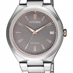 นาฬิกาผู้หญิง Citizen รุ่น FE6026-50H, Eco-Drive Stainless Steel 50m Women's Watch