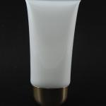 หลอดโฟม 30 กรัม สี ขาว (ฝาทองมน) แพคละ 5ชิ้น