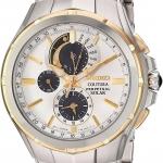 นาฬิกาผู้ชาย Seiko รุ่น SSC560, Coutura Solar Chronograph Perpetual Calendar