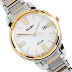 นาฬิกาผู้หญิง Seiko รุ่น SUT324P1, Solar Mother of Pearl Dial