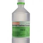 น้ำเกลือล้างแผล Klean&Kare 500 cc. น้ำเกลือทำความสะอาด ปราศเชื้อโรค ไม่ระคายผิว