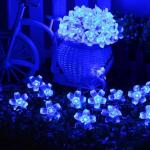 ไฟประดับโซล่าเซลล์ รูปดอกไม้