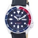 นาฬิกาผู้ชาย Seiko รุ่น SKX009J1-LS10, Automatic Diver's Ratio Black Leather 200M