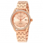 นาฬิกาผู้หญิง Citizen Eco-Drive รุ่น FE6113-57X, LTR Pink Gold-Tone Women's Watch