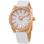 นาฬิกาผู้หญิง Diesel รุ่น DZ5541, Silver Glitter Leather