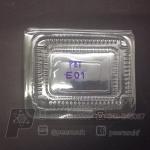 กล่อง pet E-01 แพคละ 100 ใบ