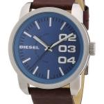 นาฬิกาผู้ชาย Diesel รุ่น DZ1512, Not So Basic Quartz Blue Dial Brown Leather