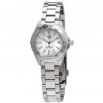 นาฬิกาผู้หญิง Tag Heuer รุ่น WBD1411.BA0741, Aquaracer Mother of Pearl Dial Quartz Ladies Watch