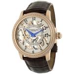 นาฬิกาผู้ชาย Stuhrling Original รุ่น 228.33452, Symphony Saturnalia Brumalia Mechanical Hand-wind Skeleton Rose Tone Men's Watch