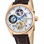 นาฬิกาผู้ชาย Stuhrling Original รุ่น 657.04, Special Reserve 657 Automatic Dual Time AM PM Indicator