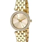 นาฬิกาผู้หญิง Michael Kors รุ่น MK3295, Mini Darci Swarovski Crystals Gold Tone Quartz Women's Watch