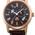 นาฬิกาผู้ชาย Orient รุ่น SAK00003T0, Sun & Moon Automatic Japan