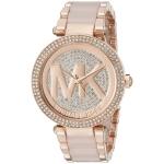 นาฬิกาผู้หญิง Michael Kors รุ่น MK6176, Parker Crystal Pave Quartz Women's Watch