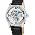 นาฬิกาผู้ชาย Stuhrling Original รุ่น 877.01, Winchester Automatic Skeleton Leather Strap Men's Watch