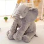 ตุ๊กตาช้าง (สีเทา)