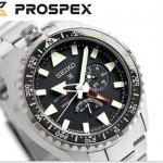 นาฬิกาผู้ชาย Seiko รุ่น SBEJ001, Prospex Land Master Automatic GMT Titanium Made In Japan Men's Watch
