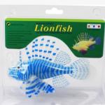 ปลาสิงโตปลอมซิลิโคลนเรืองแสงสีฟ้า(ตัวใหญ่)