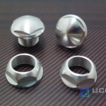 CNC Metal canopy nut & Grommets for T-Rex 500