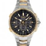 นาฬิกาผู้ชาย Seiko รุ่น SSG010P9, Coutura Radio Sync Solar Men's Watch