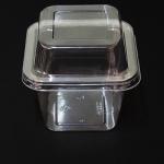 กล่องพลาสติก ใส พร้อมฝา MC002 ขนาด 12 ออนซ์