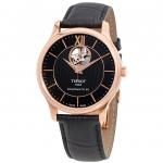 นาฬิกาผู้ชาย Tissot รุ่น T0639073606800, TRADITION POWERMATIC 80 OPEN HEART