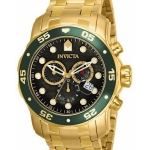 นาฬิกาผู้ชาย Invicta รุ่น INV80074, Pro Diver Chronograph 200M Quartz Men's Watch