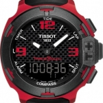 นาฬิกาผู้ชาย Tissot รุ่น T0814209720700, T-TOUCH II TITANIUM