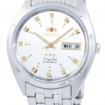 นาฬิกาผู้ชาย Orient รุ่น FAB00009W9, Orient 3 Star Crystal Automatic Men's Watch