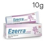 Ezerra Cream 10g ครีมสำหรับผิวแพ้ง่ายในเด็ก ผิวติดสเตียรอยด์ ผู้ที่มีปัญหาผิวแห้ง มีผดผื่น