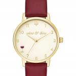 นาฬิกาผู้หญิง Kate Spade รุ่น KSW1188, Wine and Dine Metro Watch
