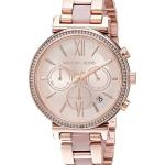 นาฬิกาผู้หญิง Michael Kors รุ่น MK6560, Sofie Chronograph Quartz Diamond Women's Watch