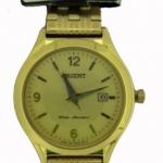 นาฬิกาผู้หญิง Orient รุ่น SSZ44001G0, Quartz Japan Gold