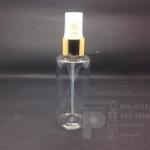 ขวด SA 100 ml ใส+สเปรย์ทอง แพคละ 10 ชิ้น