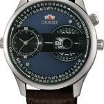 นาฬิกาผู้ชาย Orient รุ่น FXC00003B, Automatic Dual Dial