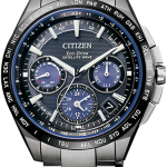 นาฬิกาผู้ชาย Citizen Eco-Drive รุ่น CC9017-59L, GPS SATELLITE-WAVE F900 LIGHT IN BLACK BLUE EDITION 2,300 LIMITED