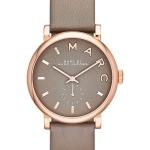 นาฬิกาผู้หญิง Marc By Marc Jacobs รุ่น MBM1266, Baker Grey Dial Leather