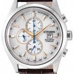 นาฬิกาผู้ชาย Citizen Eco-Drive รุ่น CA0650-15A, Titanium Chronograph