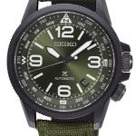นาฬิกาผู้ชาย Seiko รุ่น SRPC33J1, Prospex Land Automatic Green Made In Japan Men's Watch
