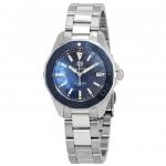 นาฬิกาผู้หญิง Tag Heuer รุ่น WAY131S.BA0748, Aquaracer Quartz 300 M - ∅35 Mm Steel And Blue Mother-Of-Pearl Dial With Blue Ceramic Bezel Ladies Watch